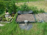 Zugewiesener Platz auf Tierfriedhof
