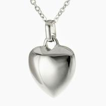 Schmuckurne mit Herz - Chromedesign